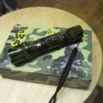 Фото 67: Военный фонарик в подарок на 23 февраля