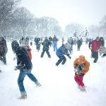 Фото 22: Игра в снежки на 23 февраля