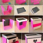 Фото 45: Сделать шкатулку из коробочек своими руками