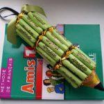 Фото 56: Карандаш из конфет в подарок учителю