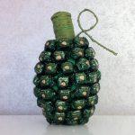 Фото 23: Сладкая граната из конфет к 23 февраля своими руками