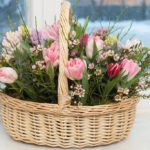 Фото 29: Корзинка с цветами от всего класса