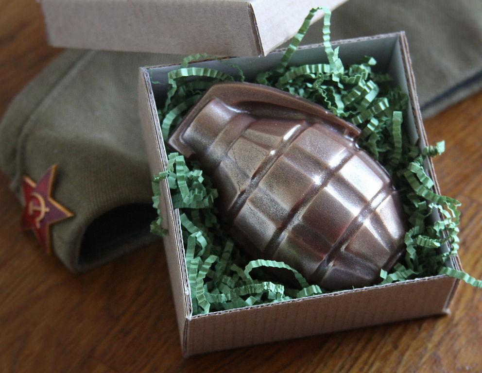 Подарить Мыло гранату на День Защитника Отечества