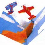 Фото 19: Объемная открытка с самолетами ко Дню Защитника Отечества своими руками