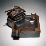 Фото 32: Пепельница с танком в подарок курящему мучжине