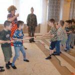 Фото 25: Перетягивание канатов на День Защитника Отечества в школе