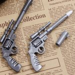 Фото 14: Ручка в виде револьвера ко Дню Защитника Отечества