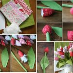 Фото 67: Как сшить мягкие тюльпаны из ткани своими руками
