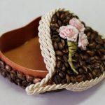Фото 27: Декор шкатулки кофе