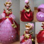 Фото 36: Кукла–шкатулка в подарок к 8 Марта девочкам