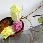 Фото 52: Икебана согецу с пекинской капустой