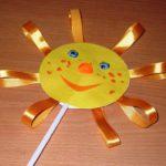 Фото 86: Игрушка солнышко на масленицу из бумаги