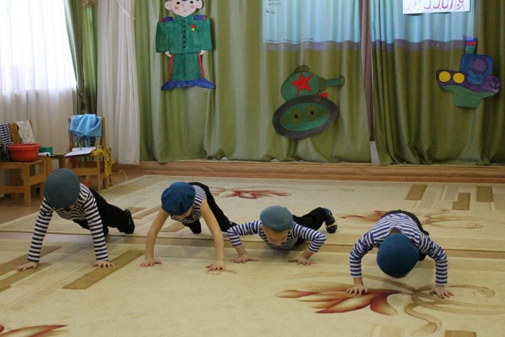 Спортивные конкурсы для детей на 23 февраля