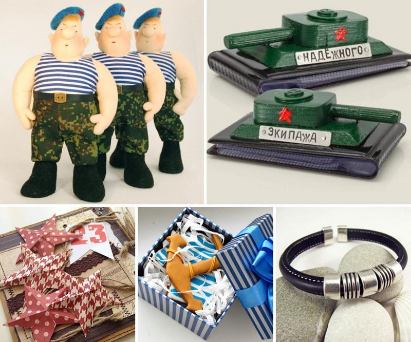 Подарить памятные сувениры на День Защитника Отечества