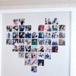 Фото 63: Постер сердце из фото