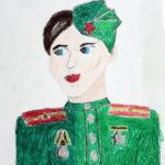 Фото 41: Портрет папы в военной форме с медалями