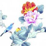 Фото 54: Весенний рисунок красками на 8 Марта