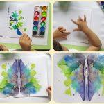 Фото 91: Как нарисовать бабочку пальчиками для малышей