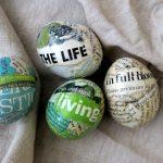 Фото 43: Декупаж яиц газетами