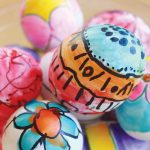 Фото 39: Роспись яиц маркерами