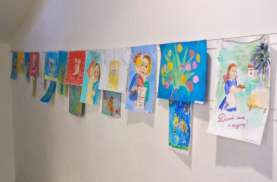 Идеи рисунков на 8 Марта