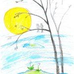 Фото 90: Как нарисовать весну своими руками