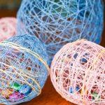 Фото 66: Яички в яйцах из ниток