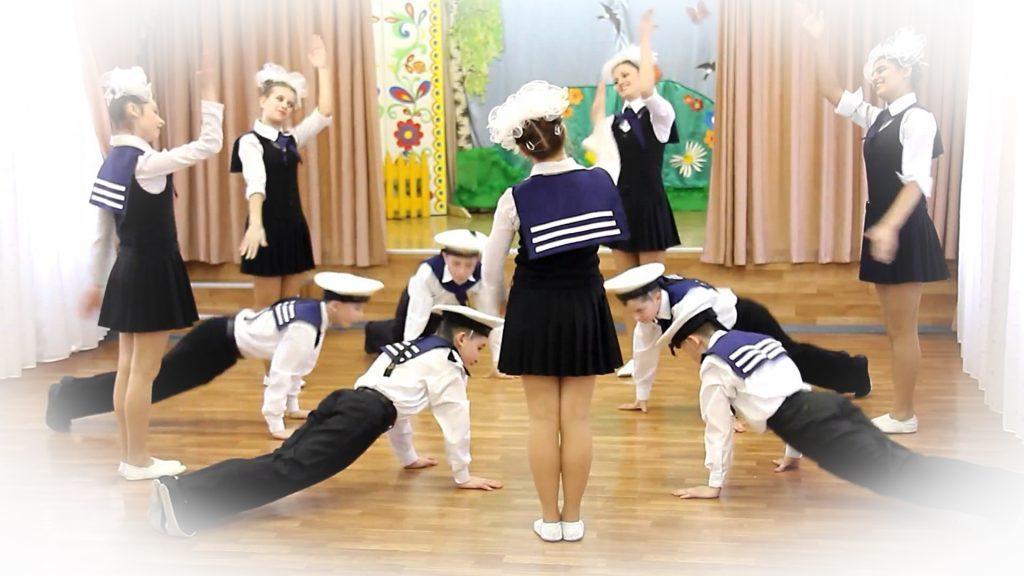 Танец на 23 февраля в школе