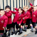 Фото 28: Бордовая школьная форма