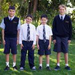 Фото 30: Синяя школьная униформа