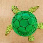 Фото 57: Черепаха из тарелочки