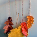 Фото 37: Подвеска из листьев и веточек