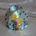 Фото 40: Салфетница из дисков
