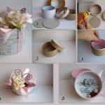 Фото 62: Как сделать шкатулку из втулок от скотча своими руками в подарок