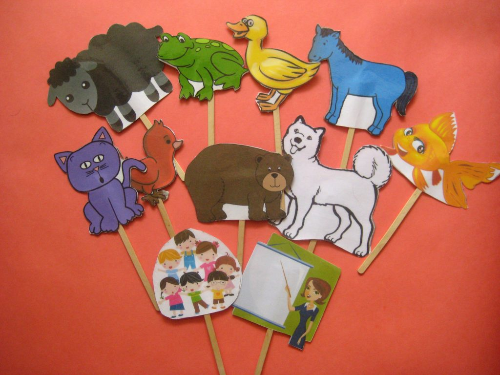 Кукольный театр на палочках