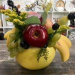 Фото 51: букет в грейпфруте