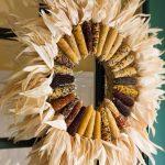 Фото 42: Венок из кукурузы