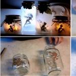 Фото 23: Подсвечники из стеклянных банок