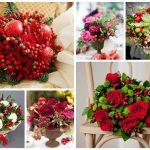 Фото 52: ягодно-цветочный букет