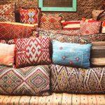Фото 14: Подушки в марокканском стиле