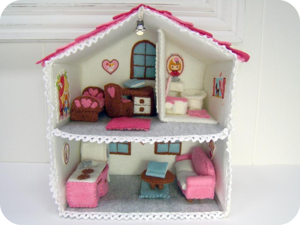могут кукольный домик из ткани своими руками фото скидку можно заработать