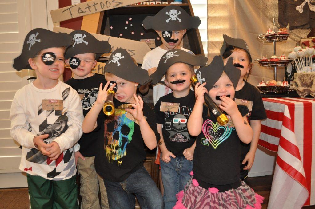 Пиратская вечеринка для девочки