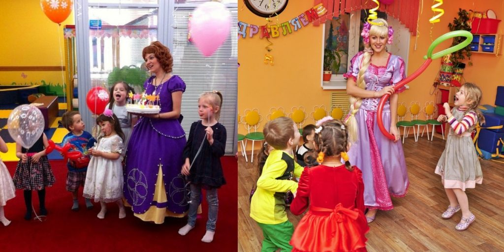 Аниматоры принцессы на день рождения девочки