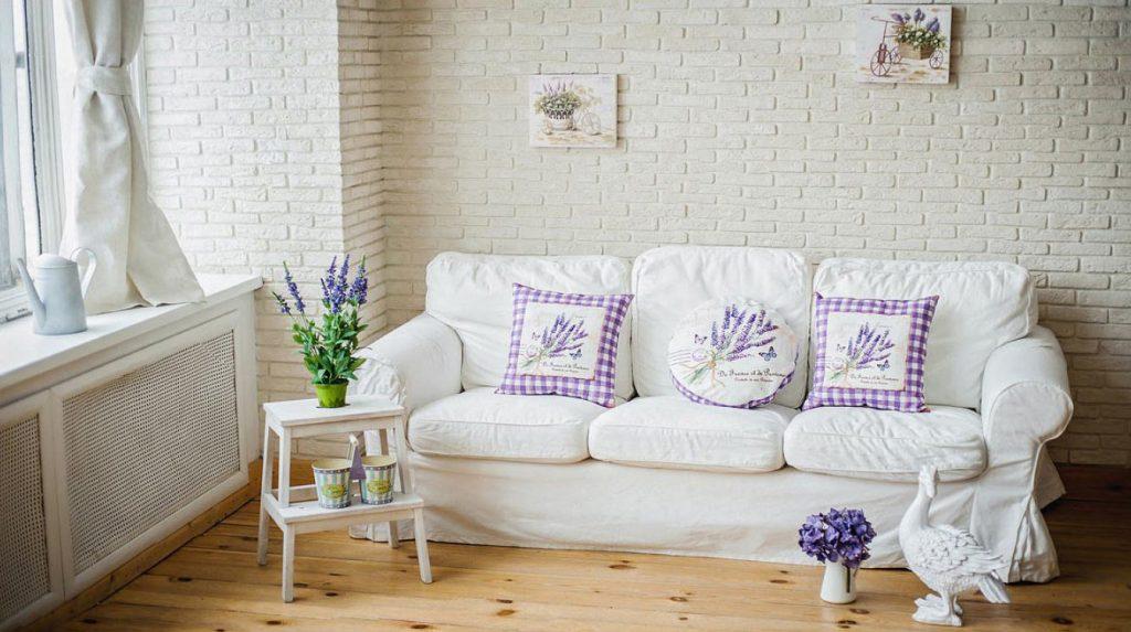 Подушки для дивана в стиле прованс