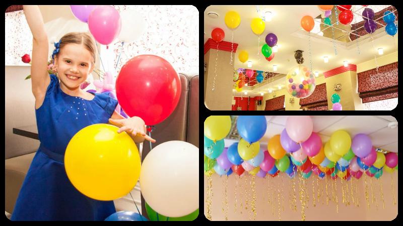 Помощь детей в организации дня рождения