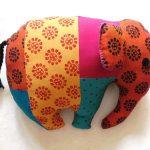 Фото 115: Подушка-индийский слон
