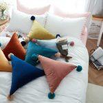 Фото 117: Треугольные подушки