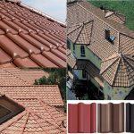 Фото 69: Крыши из цементнопесчаной черепицы