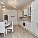 Фото 9: Бежевый цвет в интерьере кухни