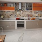 Фото 120: Декоративная облицовочная плитка на стене